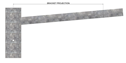 Rota-base-hinged-column-bracket