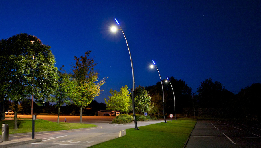 Project Lead: Thorn | Installation: Derby University | Product: Valmont Sillem Poles-h3
