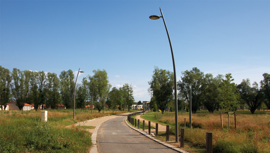 Project Lead: Valmont France | Installation: France | Product: Valmont Evolution Poles-h1