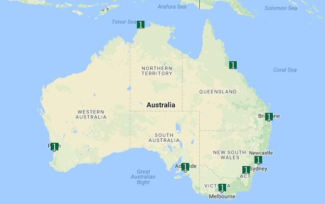 SitePro1AU-Map