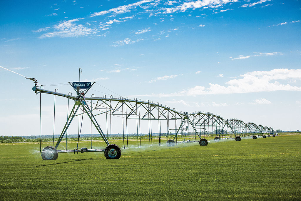 agriculture - center pivot irrigation