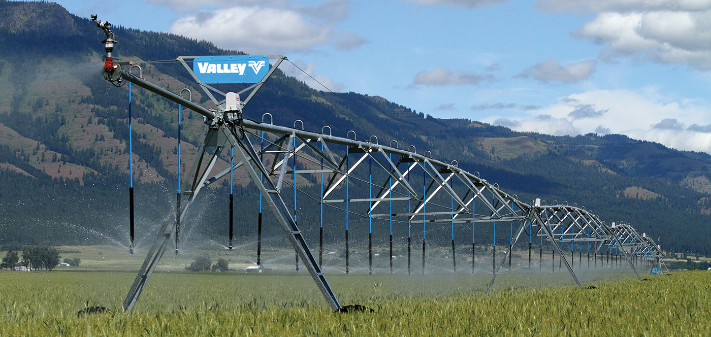 valley small field center pivot irrigation system