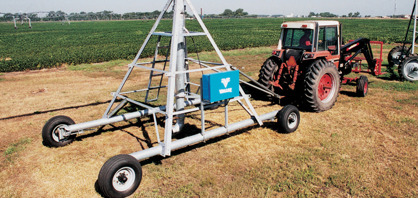 valley towable center pivot irrigation system