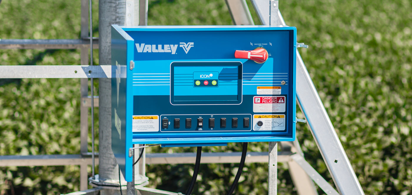 valley icon1 smart panel for center pivot irrigation