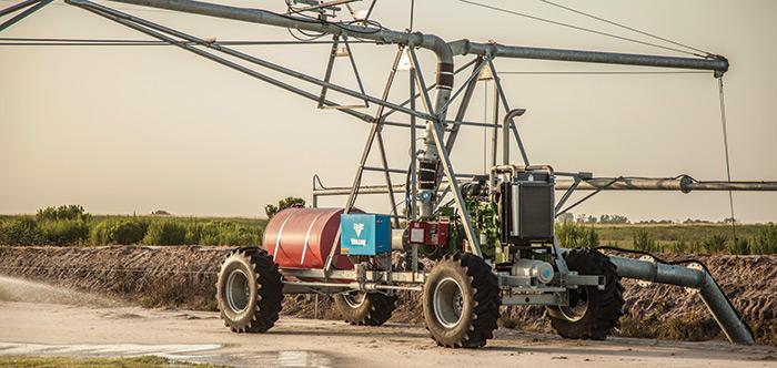 valley rainger linear irrigation machine
