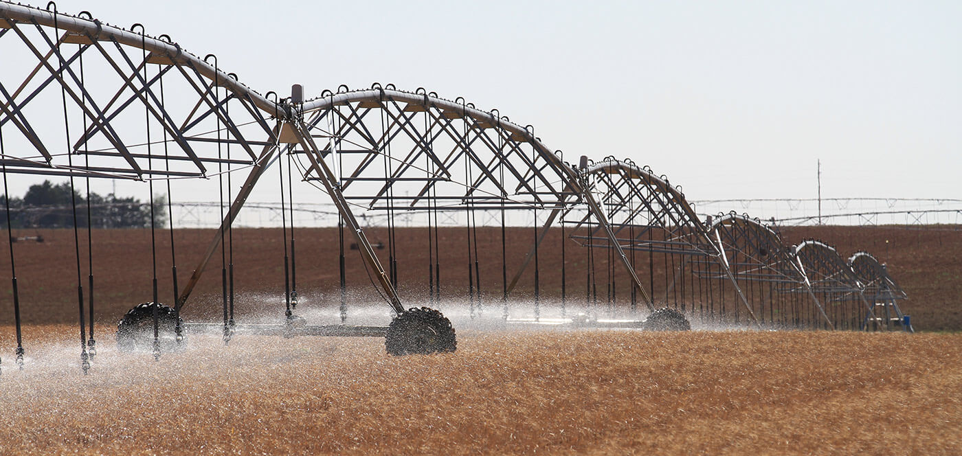 Aspersores Komet for center pivot irrigation systems