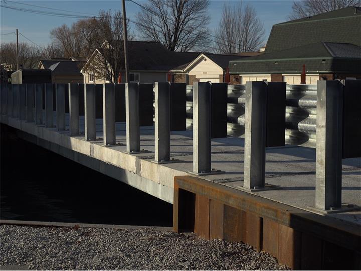 Galvanized Steel Bridge Michigan