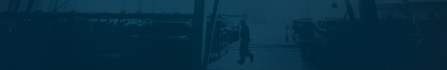 Worker waling in warehouse