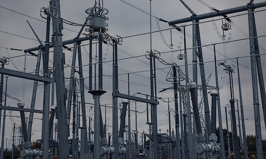 Close up of Substation