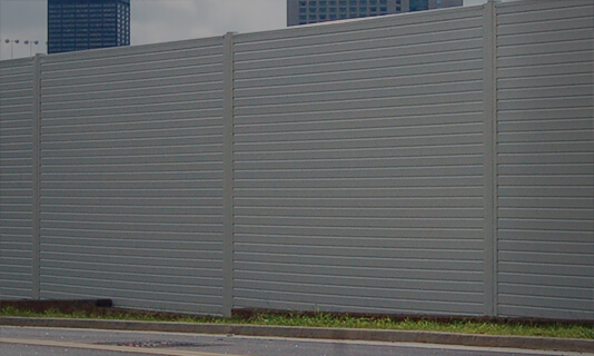 Decorative Substation Wall Fencing