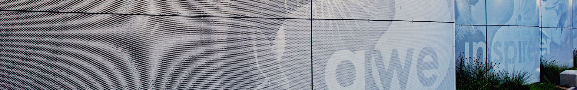 Substation fence art