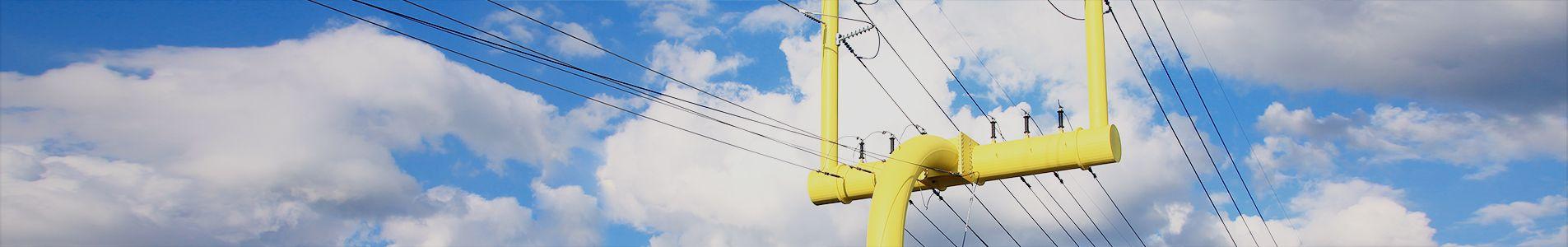specialty utility pole