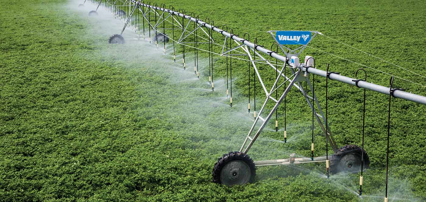 valley VRI Control de Velocidad variable rate irrigation - vri