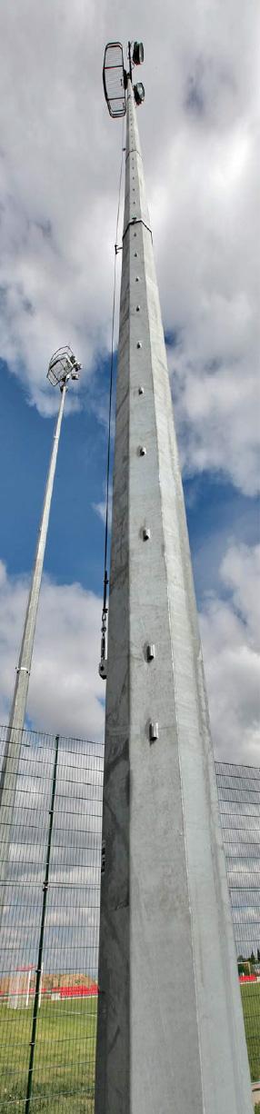 Belier-P-16-Sites-Conical-Steel-Lighting-Mast