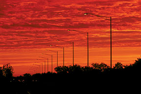 Valmont-Traffic-Structures-Standard-Sunset-ChicagoIL