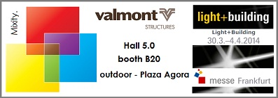 Valmont on Light and Building show