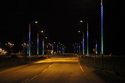 Verlichting-Bostvriendelijke masten-100HE3-Op