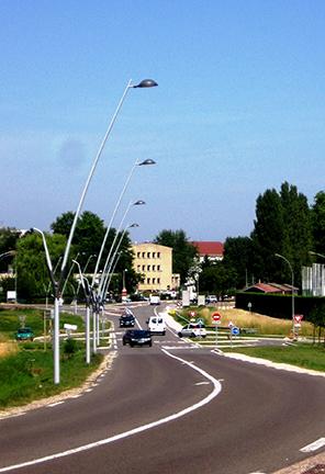 Verlichting-Standard-Aluminium-Masten
