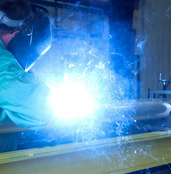 welding utility bus materials